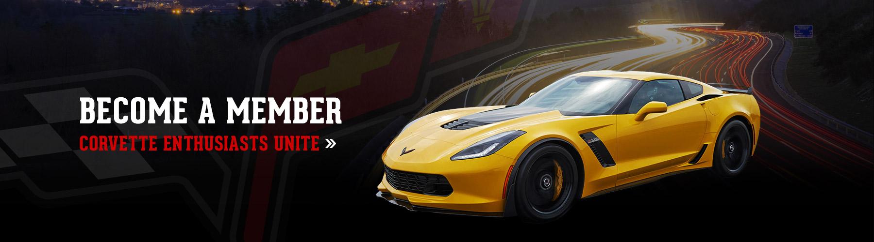 become a member of the grand strand corvette club