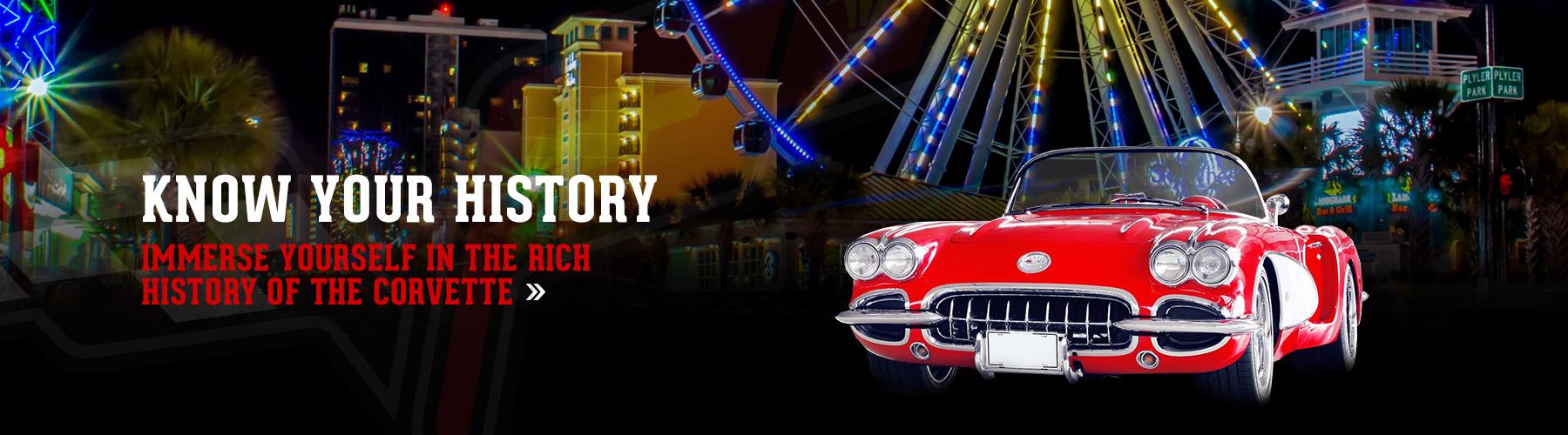history of the chevrolet corvette
